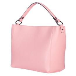 Geanta din piele Victoria roz