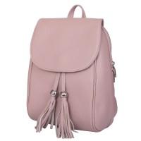 Rucsac din piele Gabriel roz