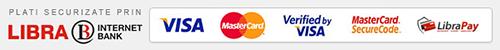 plata cu cardul prin librapay